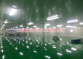 内蒙古天宇牧歌食品净化厂房工程