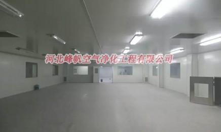 秦皇岛净化彩钢板安装无菌净化厂房彩钢板安装找河北峰帆净化工程公司