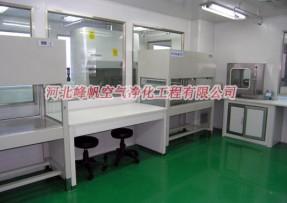 河北P2洁净实验室P3实验室设计施工施工就找石家庄峰帆净化公司