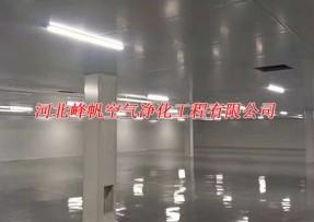 河北各地医疗器械工厂净化厂房装修装饰设计施工工程