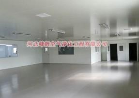 河北沧州净化厂房洁净工程 报价 邢台净化厂房施工、峰帆净化(推荐)