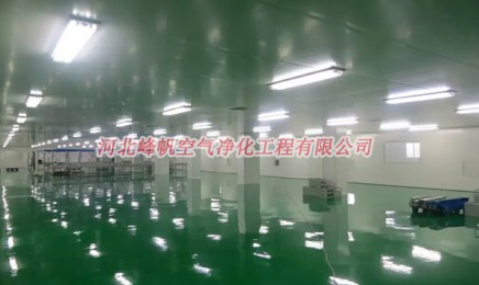 河北中药饮片净化车间、提取车间净化工程、峰帆净化(厂家报价直供)
