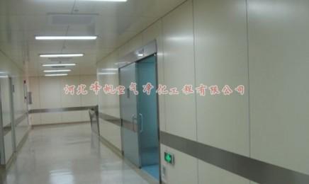 河北各地医用洁净走廊、净化厂房洁净走廊、石家庄峰帆设计施工