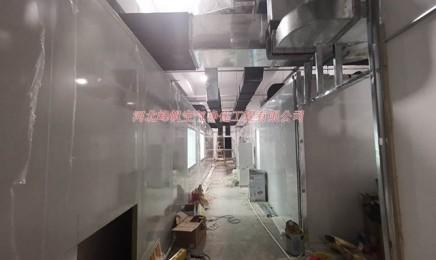 建设的净化厂房工程视频