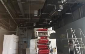 正在施工中的涂布净化车间视频