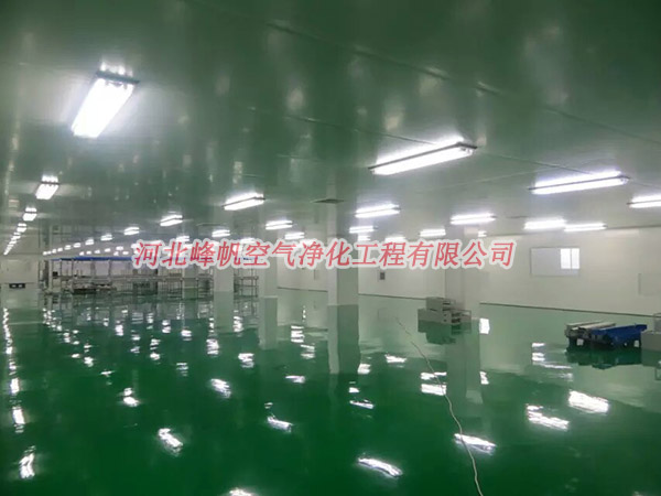 河北洁净厂房按需建设就找峰帆净化工程