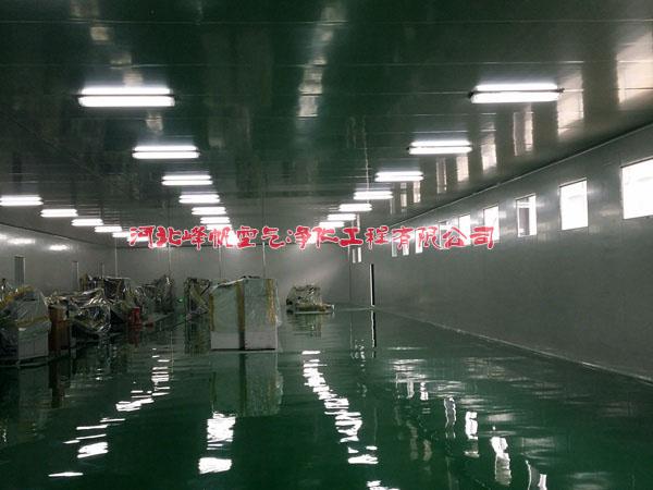 河北靠谱的净化工程公司设计施工专业的净化厂房公司选河北峰帆净化
