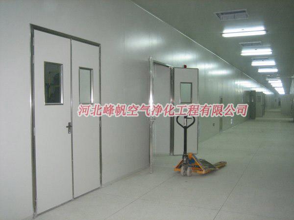 河北定州净化厂房无菌车间洁净室工程设计施工厂家