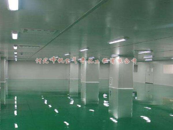 河北石家庄洁净室工程无菌室万级净化厂房设计施工